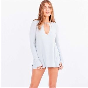 Urban Outfitters Light Blue Long Sleeve